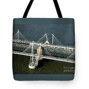 Crossing The Thames Tote Bag