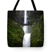 Crossing The Water Fall Tote Bag