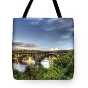 Crossing Tillery Tote Bag