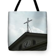 Crossing Time Tote Bag