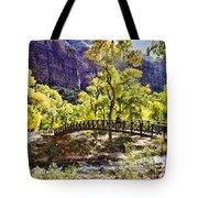 Crossover The Bridge - Zion Tote Bag