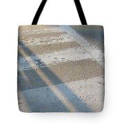 Crosswalk Shadow 2 Tote Bag