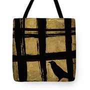 Crow And Golden Light Number 2 Tote Bag by Carol Leigh