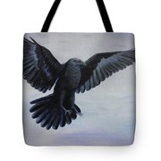 Crow Flight Tote Bag