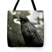 Crow In The Summer Rain Tote Bag