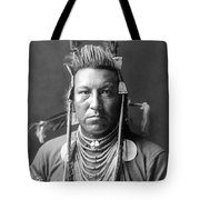 Crow Indian Circa 1908 Tote Bag by Aged Pixel