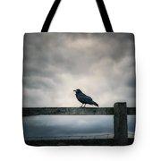 Crow Tote Bag by Joana Kruse