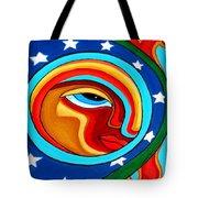 Crow Moon And Sun Tote Bag