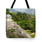 Crowd At Palenque Tote Bag