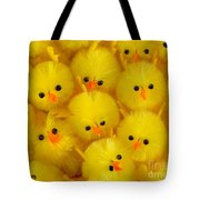 Crowded Chicks Tote Bag