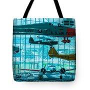 Crowded Skies Tote Bag