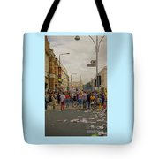 Crowds At Carnival Notting Hill Celebrations Tote Bag