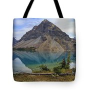 Crowfoot Mountain Banff Np Tote Bag