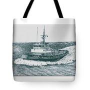 Crowley Tugboat Ocean Going Gladiator Tote Bag