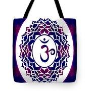 Crown Chakra Abstract Spiritual Artwork By Omaste Witkowski Tote Bag