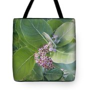 Crown Flower Tote Bag