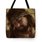 Crown Of Thorns Glass Mosaic Tote Bag