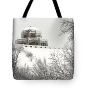 Crown Point From Below Tote Bag
