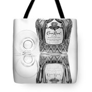Crown Royal Black And White Tote Bag