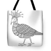 Crowned Pigeon Tote Bag by MGL Meiklejohn Graphics Licensing