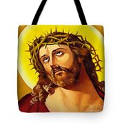 Crowned With Thorns Tote Bag
