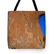 Capital Reef Rock Art Panel A Tote Bag