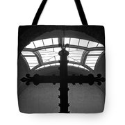 Crucifix And Skylight Tote Bag