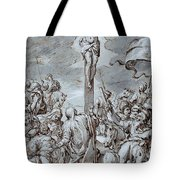 Crucifixion Tote Bag by Johann or Hans von Aachen