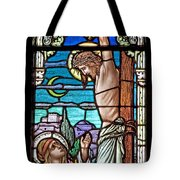 Crucifixion Of Christ Tote Bag by Mountain Dreams