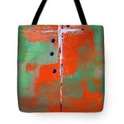 Cruciform 2 Tote Bag by Nancy Merkle