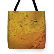 Cruciform In Yellow Recycled Tote Bag