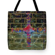 Cruciform The Second Tote Bag by MJ Olsen