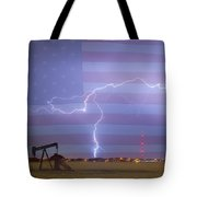 Crude Oil And Natural Gas Striking Across America Tote Bag by James BO  Insogna