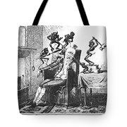 Cruikshank: Headache, 1819 Tote Bag