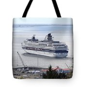 Cruising Out Of Astoria Tote Bag