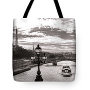 Cruise On The Seine Tote Bag