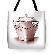 Cruise Ship Tote Bag