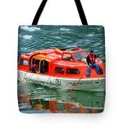 Cruise Ship Tender Boat  Tote Bag