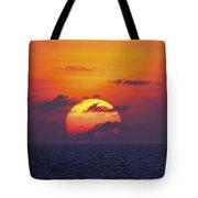 Cruise Sunset Tote Bag