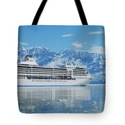Cruisin' At Hubbard Glacier Tote Bag