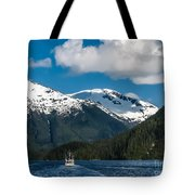 Cruising Alaska Tote Bag