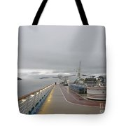 Cruising In The Fog 3 Tote Bag