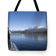 Cruising Inn Doubtful Sound South Island New Zealand Tote Bag