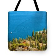Cruising Jenny Lake Tote Bag