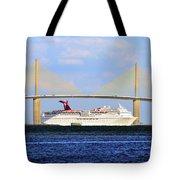 Cruising Tampa Bay Tote Bag by David Lee Thompson
