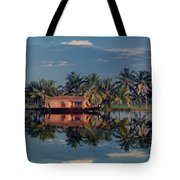 Cruising The Backwaters.. Tote Bag