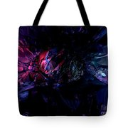 Crushed Abstract Tote Bag