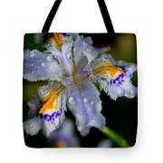 Crying Fringed Iris-iris Japonica Tote Bag