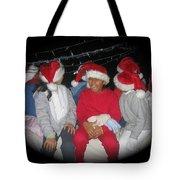 Crying Junior Santa Christmas Parade Eloy Arizona 2005-2013 Tote Bag