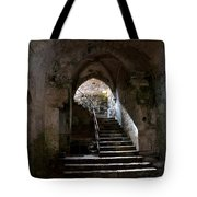 Crypt Of The Martyr San Marciano In Syracuse Tote Bag